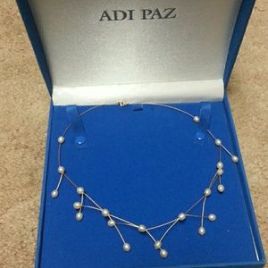 Beautiful 14k pearls necklace
